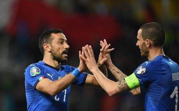 Италия разнебити Лихтенщайн в нощта на Куалярела