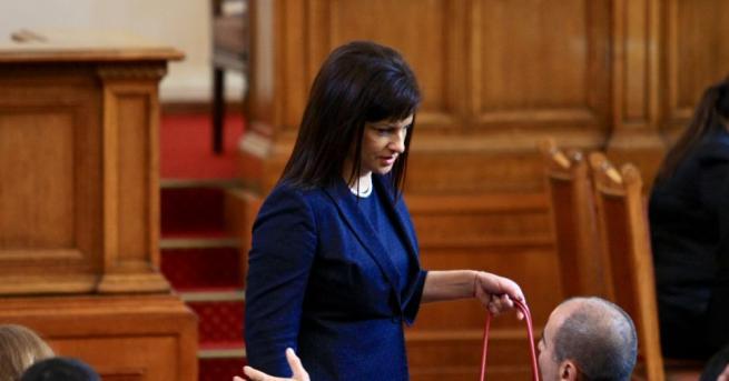 Председателят на ПГ на ГЕРБ д-р Даниела Дариткова ще организира