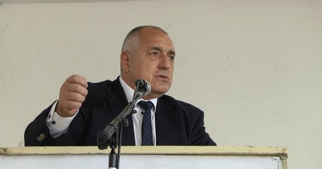 Снимка: Премиерът Борисов: С построяването на