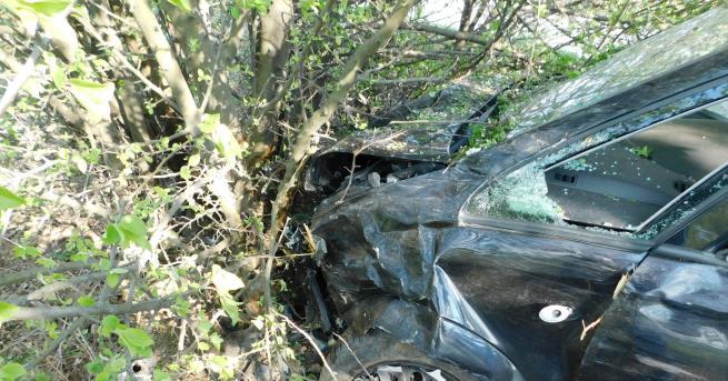30-годишна жена пострада при пътно-транспортно произшествие по пътя Разград-Исперих в