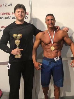 Христо Андреев със свой клиент
