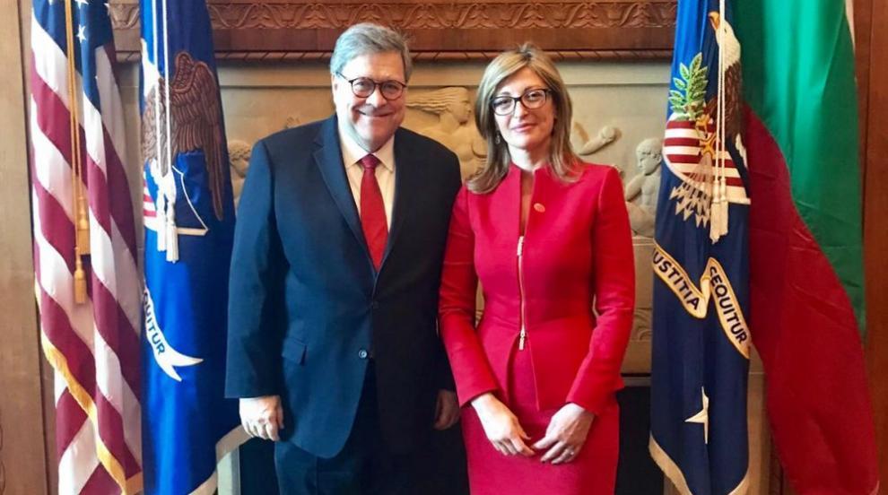 Главният прокурор на САЩ: Работим отлично с България