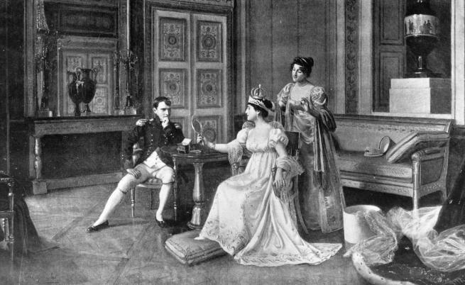 Наполеон Бонапарт: Нямам писмо от теб. Следователно имаш приятни занимания