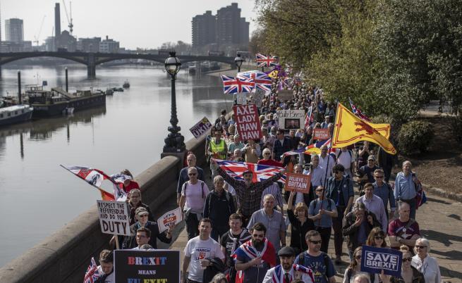 750 000 граждани на ЕС искат да се установят във Великобритания след Брекзит