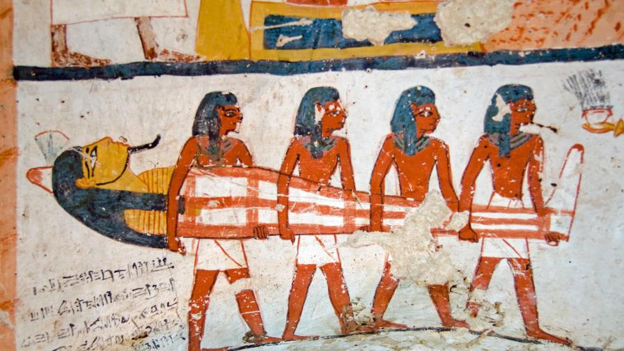 <p>Отвориха древноегипетски саркофази <strong>на живо</strong> (ВИДЕО)</p>
