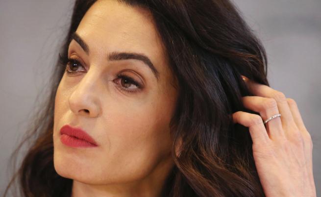 Съпругата на Клуни срещу джихадистка в Германия