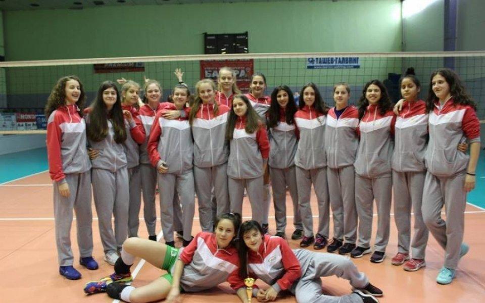 Волейболните девойки с контроли преди евроквалификацията