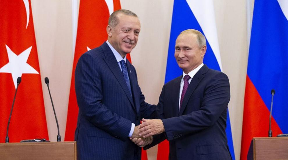 След 6 часа: Приключи срещата между Путин и Ердоган (СНИМКИ/ВИДЕО)