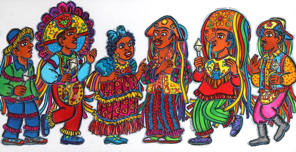 Във фокуса на артиста са фолклорът, легендите, танците, тропическите пейзажи, връзката с Африка, индианците, флората и фауната. Освен от любовта към Бразилия, той се вдъхновява още от традиционната линогравюра от Мато Гросо до Сул и от поп арта.