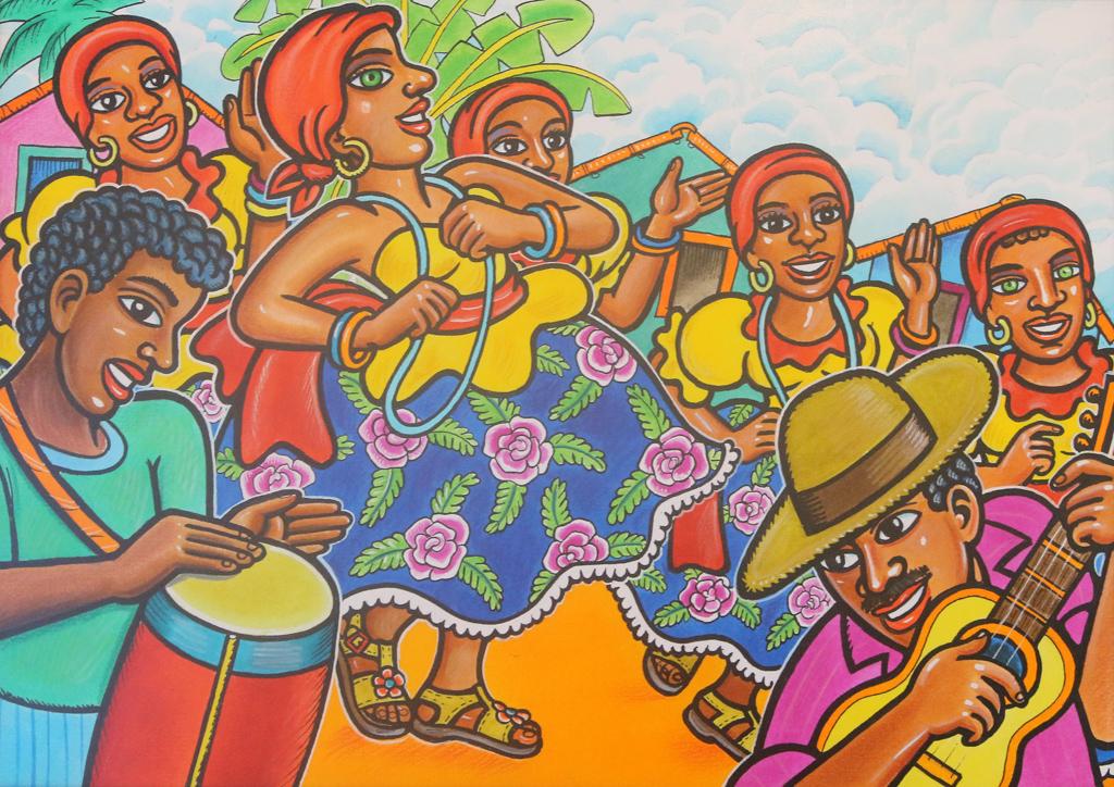 В работите му диша атмосферата на родния му остров Итамарака в щата Пернамбуко, популярен с пъстрите панаири, куклените представления по площадите, наивистичното изкуство и невероятните сюжети върху дърво.
