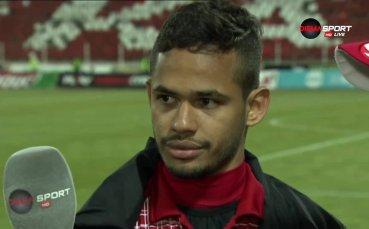 Евандро: Тази победа дава самочувствие не само на мен, а и на отбора