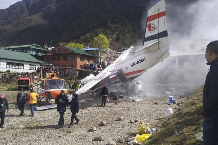 катастрофа самолет непал