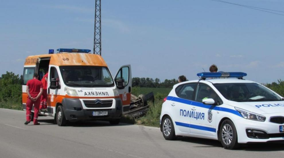 Бебе загина в катастрофа, Местан шофирал единия автомобил