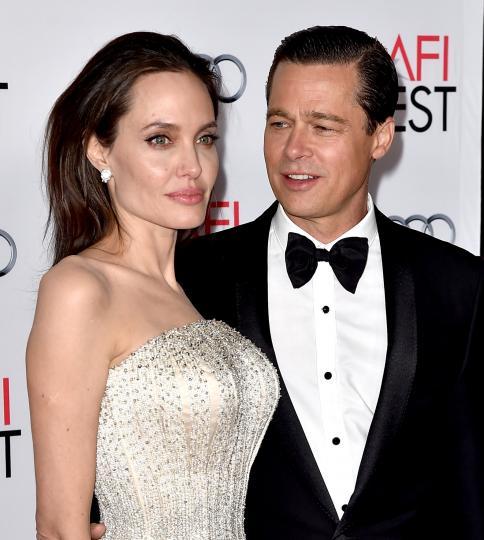 <p>Брад Пит и Анджелина Джоли</p>