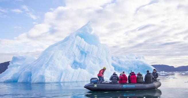 Гренландия е мястото на Земята, за което може да се
