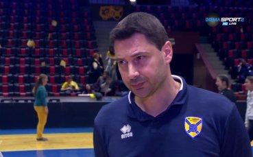 Атанас Петров: Ще направим всичко възможно за требъл