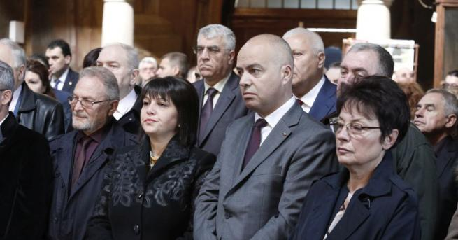Председателят на Народното събрание Цвета Караянчева постави началото на тържественото