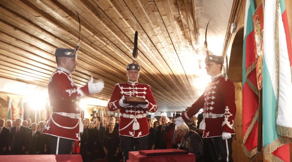 Депутатите отбелязаха тържествено 140-ата годишнина от Търновската...