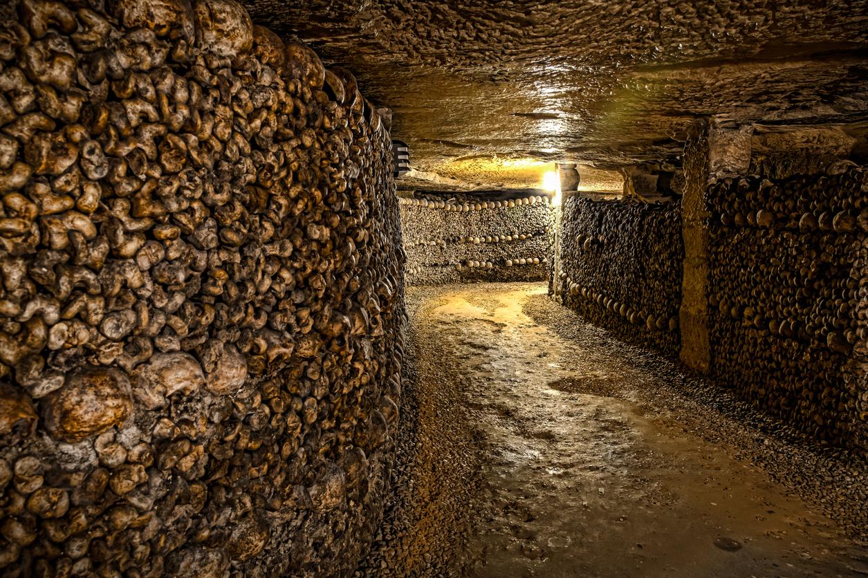 """""""Обществените костници"""" представляват костница, където са съхранени останките на около 6 милиона души."""