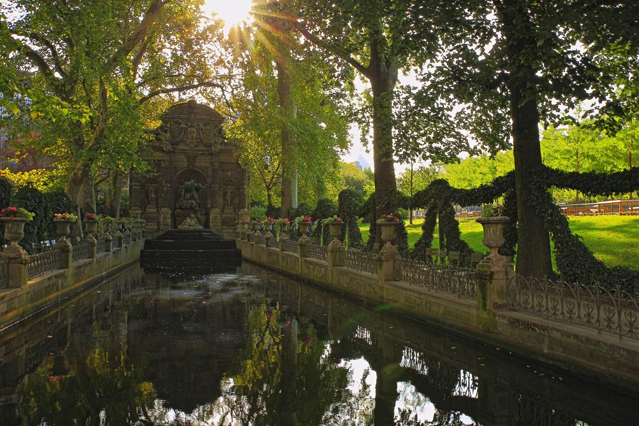 Днес представлява комплекс от дворец и парк, официална градина,