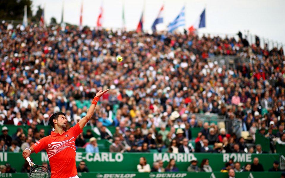 Джокович стартира с трудна победа в Монте Карло