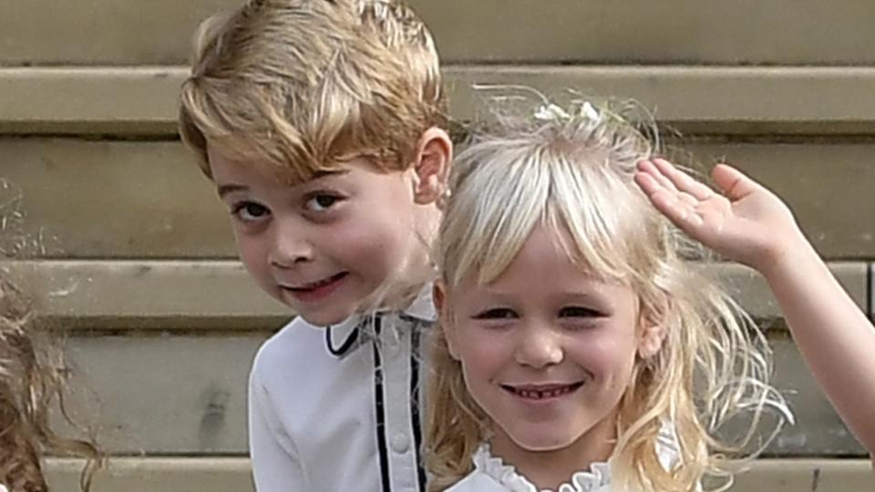 Коя е най-добрата приятелка на принц Джордж