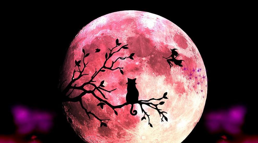 Розова Луна ще озари небето