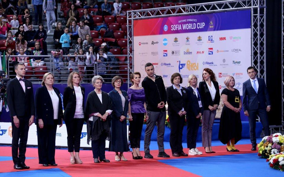 Отлична оценка за организацията на Световната купа по гимнастика