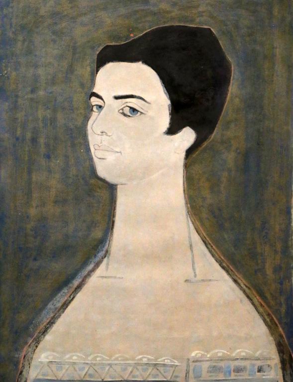 Пенчо Балкански, портрет на Красимира