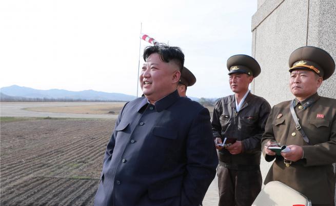 Северна Корея изпробва нова тактическа управляема оръжейна система