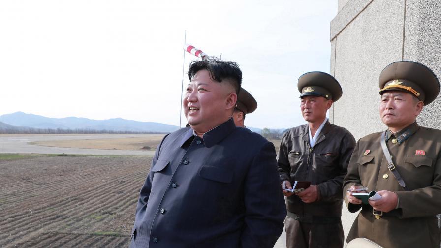 <p><strong>Северна Корея</strong> тества <strong>ново оръжие&nbsp;&nbsp;</strong></p>