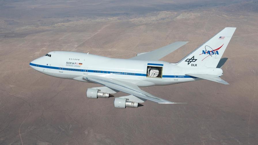 Летящата обсерватория SOFIA на НАСА