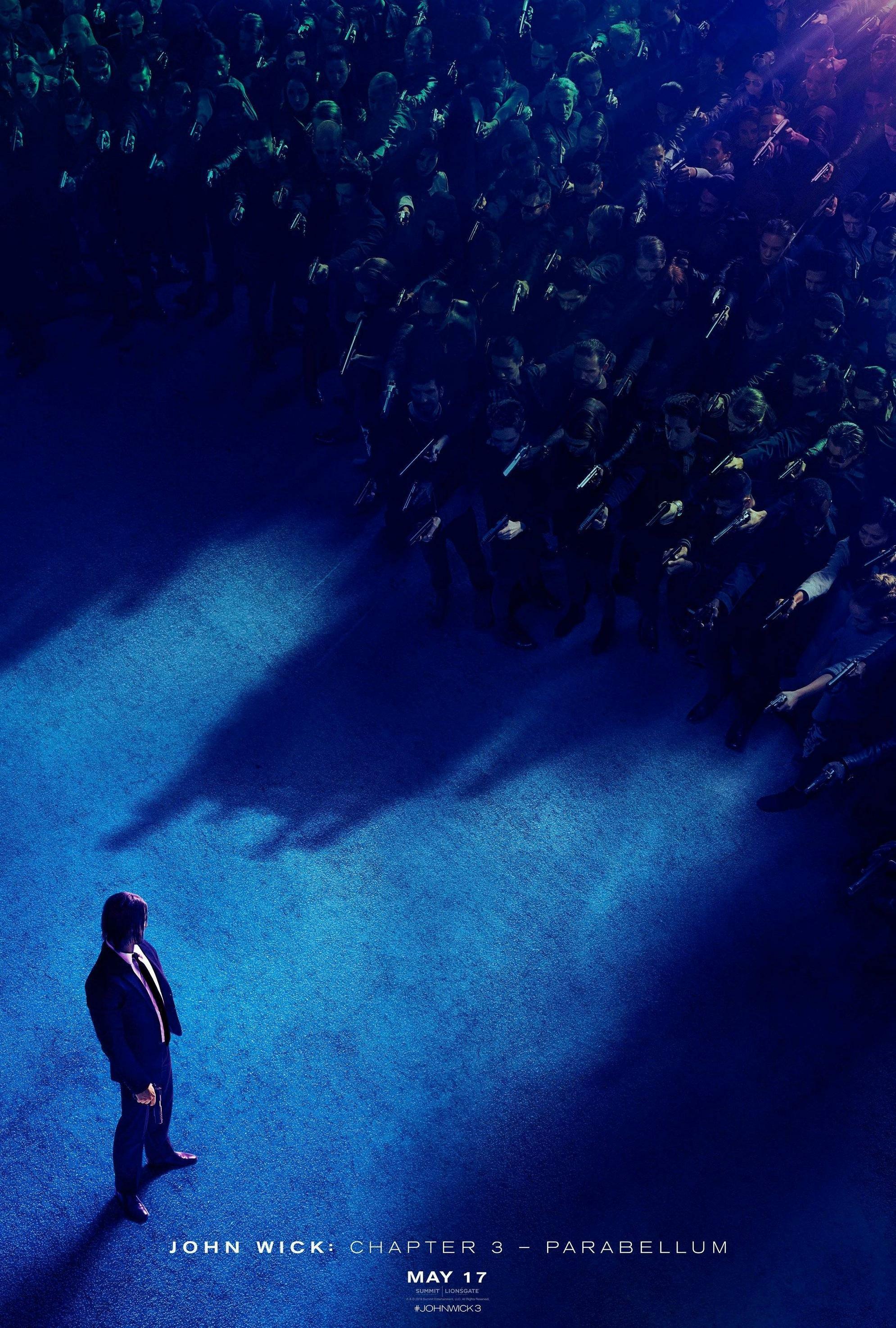 """John Wick: Chapter 3 - Parabellum / """"Джон Уик 3"""" – Премиерна дата: 17/05/2019; Режисьор: Чад Сталески: Участват: Киану Рийвс, Лорънс Фишбърн, Холи Бери"""