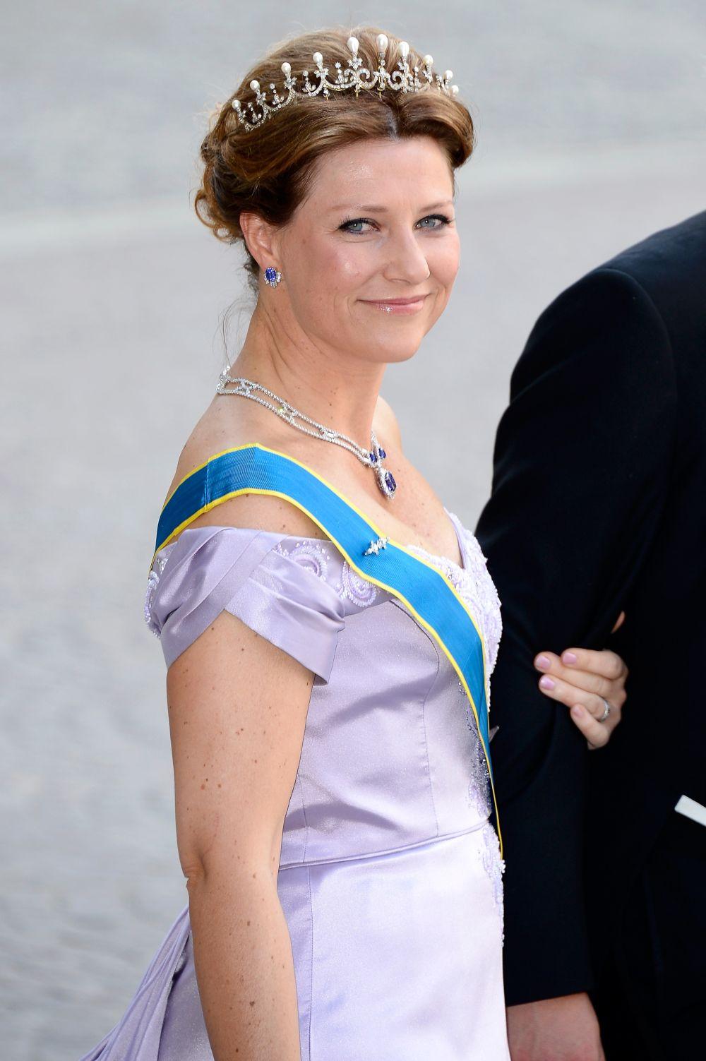 47-годишната норвежка принцеса Марта Луиз е дъщеря на норвежкия крал Харалд V и на кралица Соня