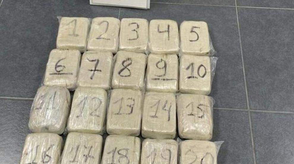 Иззеха 288 кг хероин в камион на Капитан Андреево
