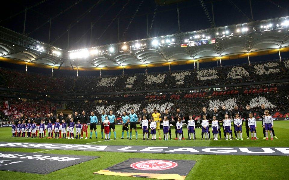 Единственият оцелял германски тим в евротурнирите Айнтрахт Франкфурт разчита на