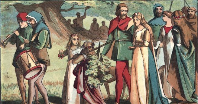 Любопитно Любовта на един сръбски цар и неговата българска принцеса