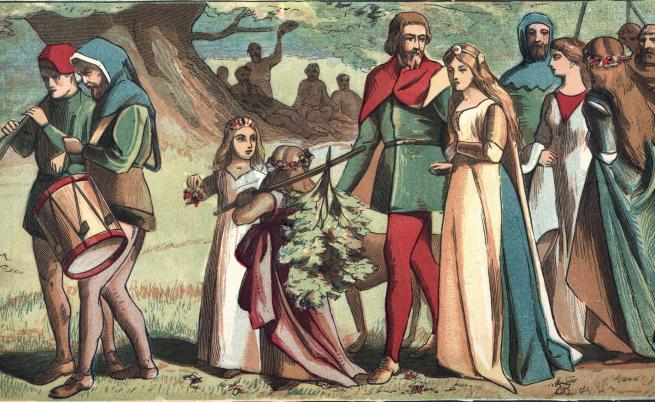 Любовта на един сръбски цар и неговата българска принцеса