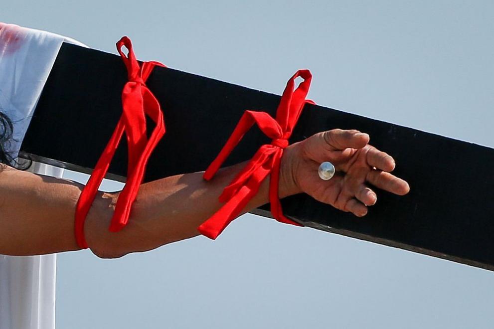 Филипините кръст разпъване Разпети петък