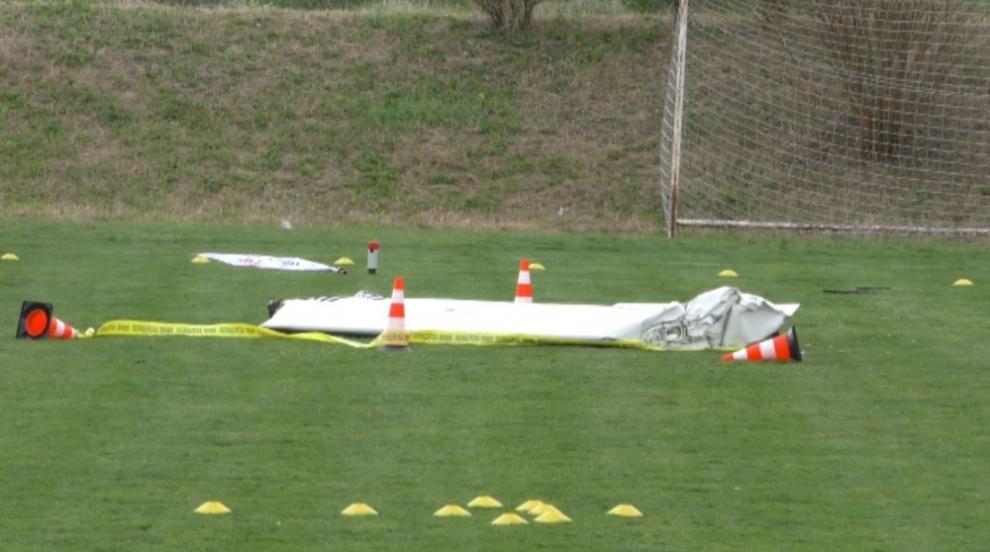 Самолет се разби край Пловдив, двама загинаха (СНИМКИ)