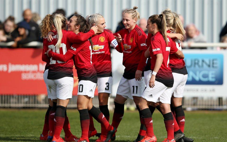 Ман Юнайтед стана шампион в Англия, но във втора дивизия при жените