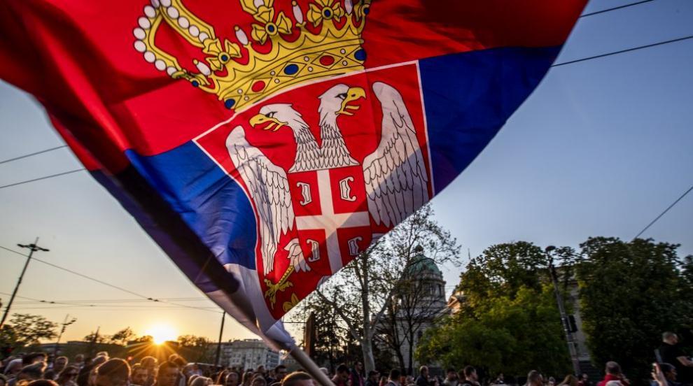 Хиляди протестираха в Белград (ВИДЕО/СНИМКИ)