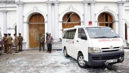 <p>Ужас на Великден: осем експлозии в Шри Ланка</p>