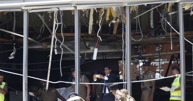 Снимка: Задържаха 7 заподозрени за атаките в Шри Ланка, броят на жертвите надхвърли 200