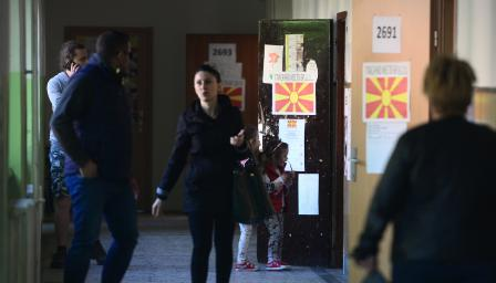 Под 30% избирателна активност на изборите в Македония