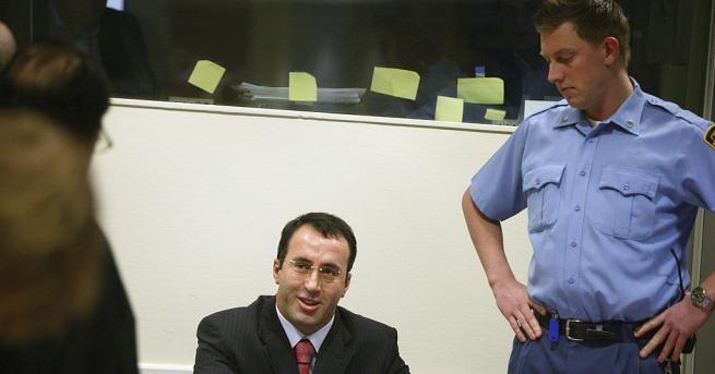 Снимка: Руските комици Вован и Лексус погодиха номер на Рамуш Харадинай