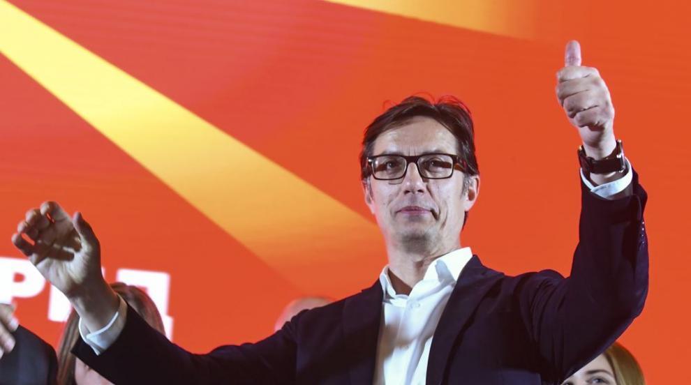 Пендаровски със значителна преднина на изборите в РС Македония