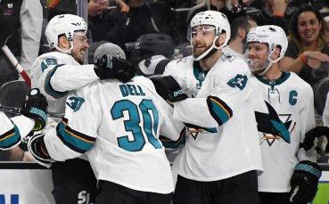 Бостън и Сан Хосе изравниха сериите в НХЛ