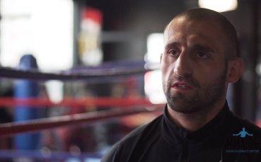 Боксьорът Григор Саруханян: Ще се бия докрай в Max Fight 42