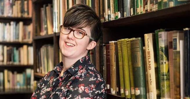 """Снимка: Групировката """"Нова ИРА"""" пое отговорност за убийството на журналистката Лайра Маккий"""